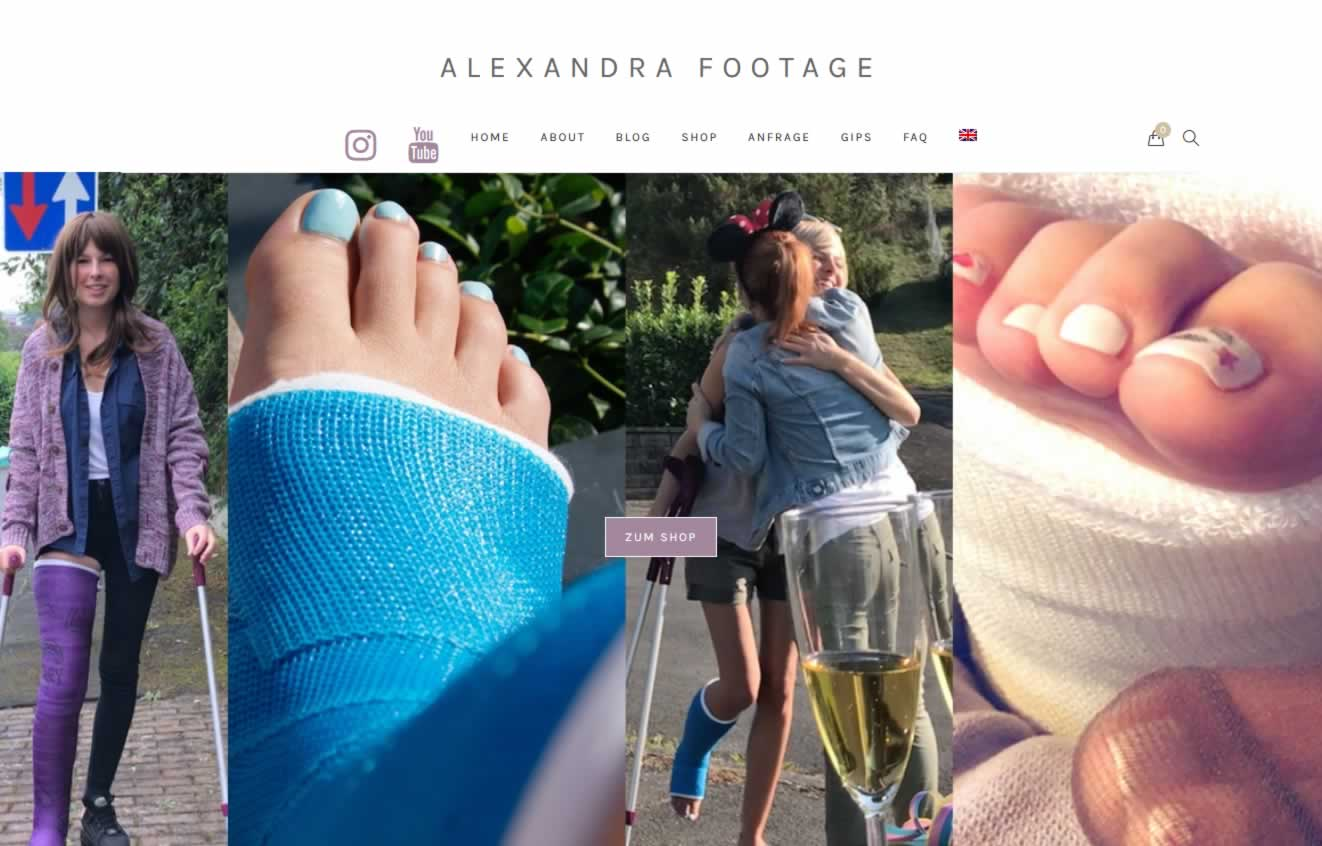 ALEXANDRA FOOTAGE