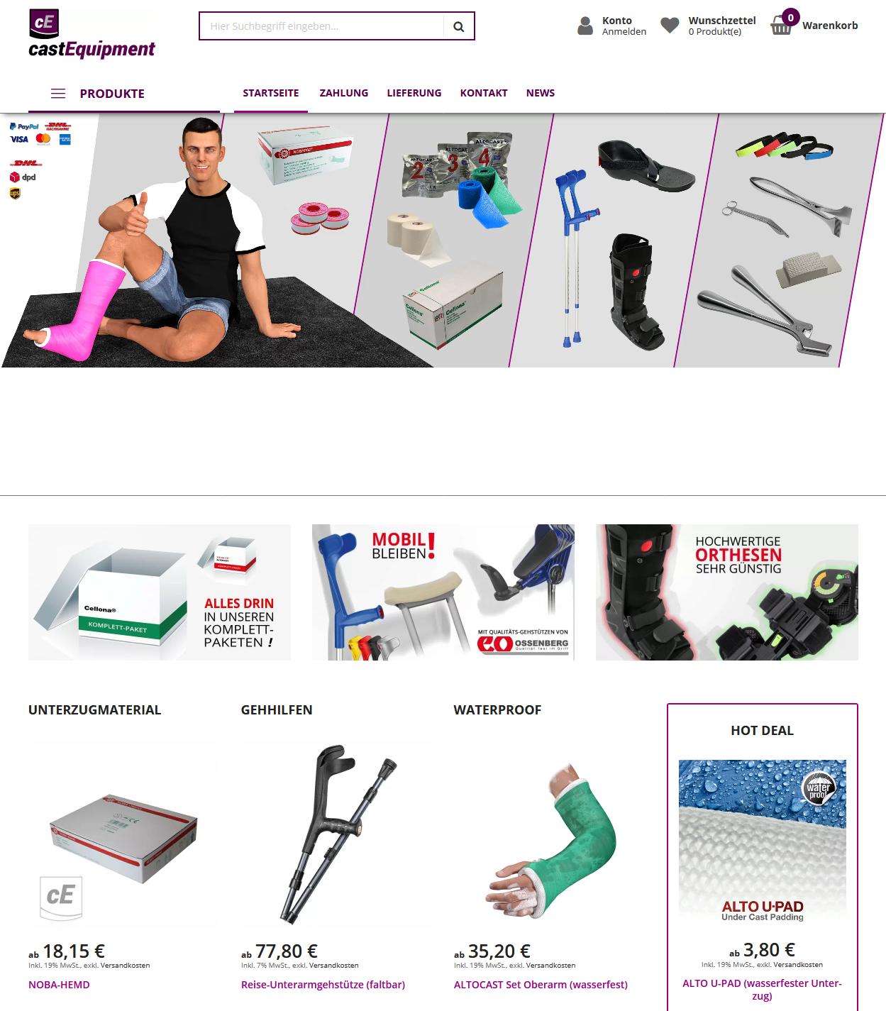 castEquipment.de