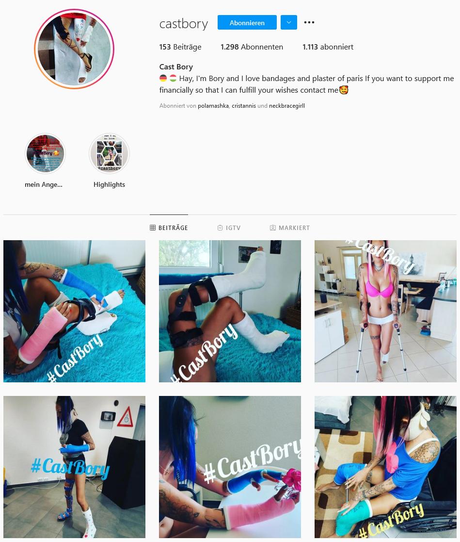 castbory @instagram