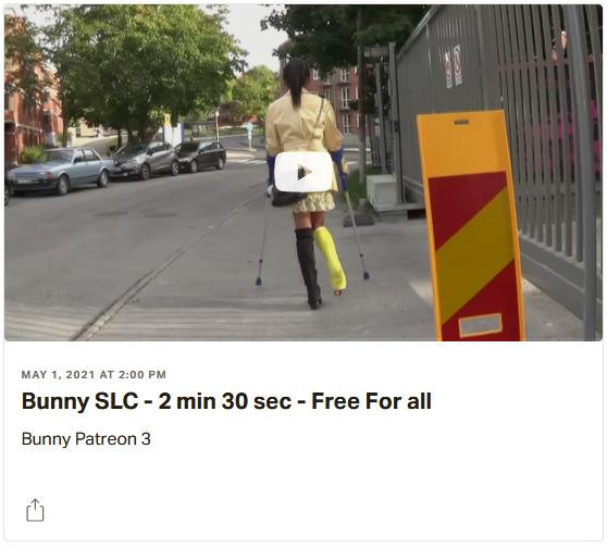 Patreon - FREE VIDEO: Bunny SLC & Sunshine SLC