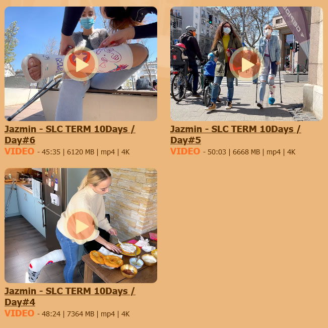 Jazmin - SLC TERM 10Days - Day#4, #5 and #6
