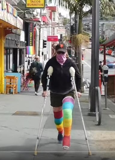 I Broke My Leg in San Francisco (Part 3 of 3)