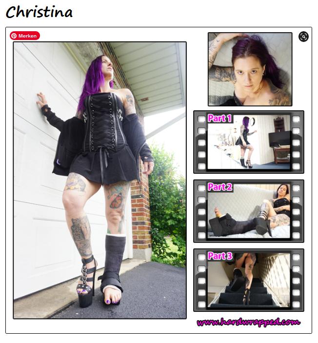 Christina in black SLC