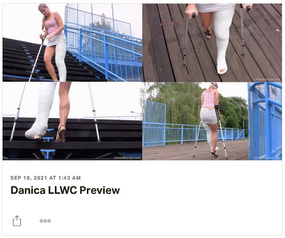 3 new clips: Katrin LLWC, Amanda SLWC, Danica LLWC - massive, classic plastercastscasts...