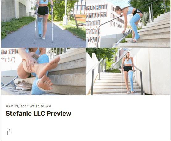 3 new videos: Stefanie in angled LLC, Rachel in white LLWC, Danica in SLWC