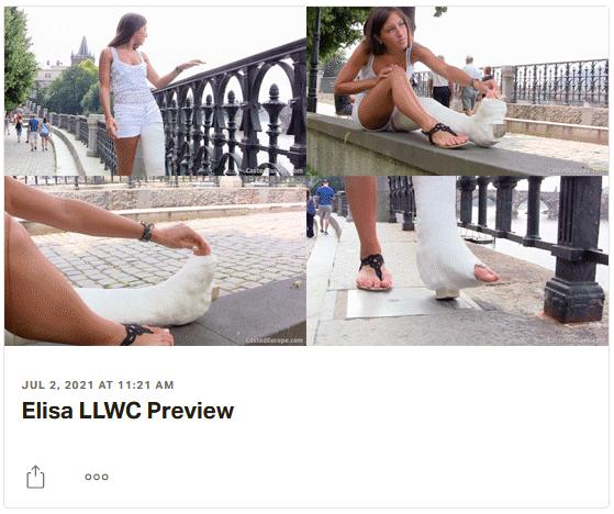 3 new videos: Vivien plaster SLC, Amanda plaster SLC, Elisa plaster LLWC