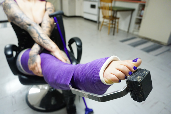 Christina Gallery Update (purple LLC with Heel Bar)