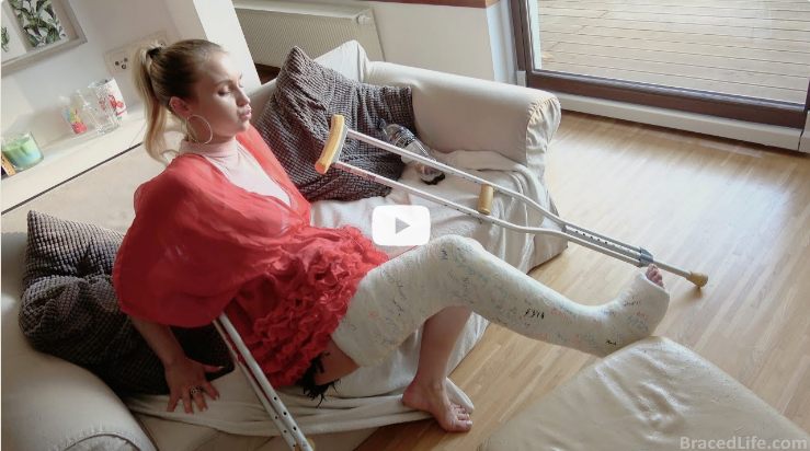 Life with a Long Leg Plaster Cast (Preview available)