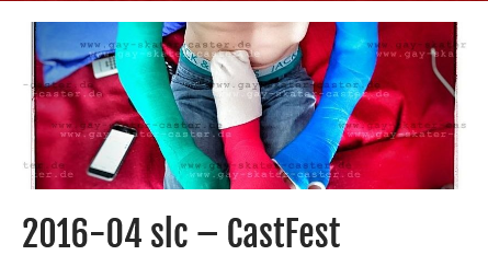 more videos of my #brokenleg and #crutches online! visited a friend with my #slc and had lots of fun for a long weekend! twosome #CastFest with him in 2 #lac!