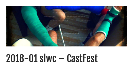 Exciting #CastFest with @castmande and @andrewithcast with two #llc and one #slwc with #Helmü #walkingheel
