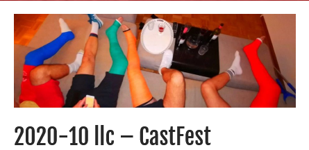 exciting #CastFest. four caster with #LLC and #crutches. my cast was on for a whole week — thanks to my homo-office!