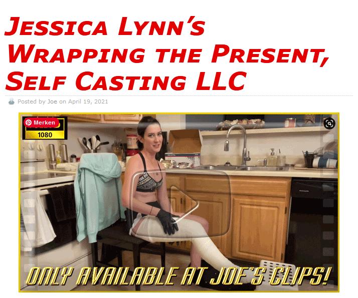 Jessica Lynn's Wrapping the Present, Self Casting LLC $25 (Video: 57 min. $25)