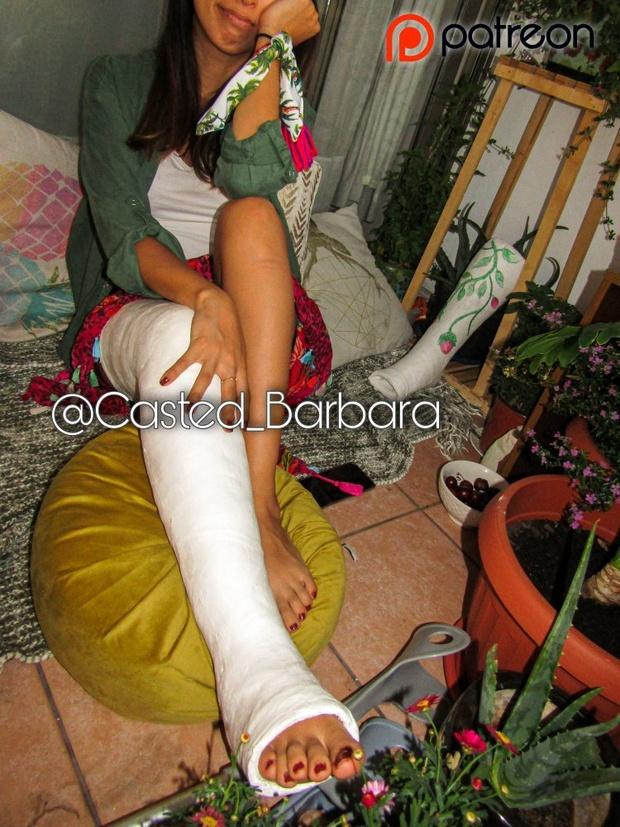 Casted Barbara
